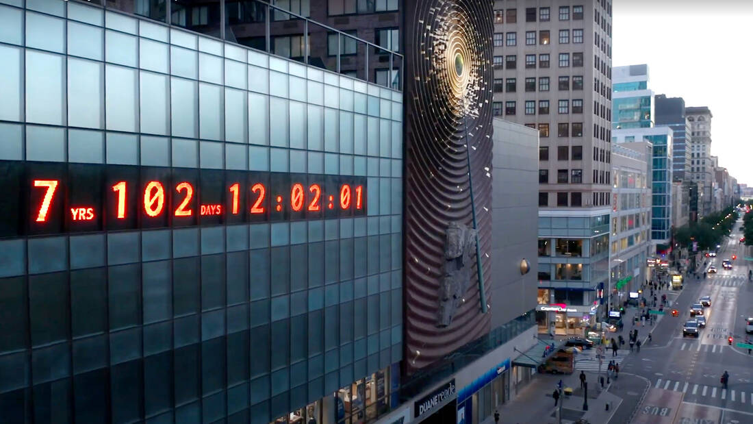 NYC's Climate Clock Shows How Much Time the Planet Has Left